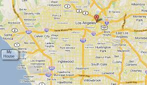 map of downtown los angeles los angeles maps centroid michael dorausch