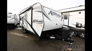 attitude toy hauler floor plans 2017 eclipse attitude 19 fb le toy hauler travel trailer video