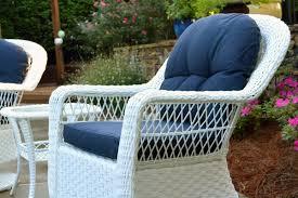 Wicker Glider Patio Furniture - biloxi 3pc wicker bistro set tortuga outdoor