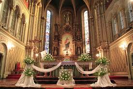 download church altar decorations for weddings wedding corners