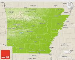map of arkansas physical 3d map of arkansas shaded relief outside