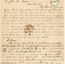 appreciation letter to chef thank you letter from amistad rebellion slaves to john quincy