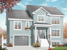 boones creek split level home plan 032d 0771 house plans and more
