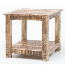 Wohnzimmertisch Holz Quadratisch Massivholz Wohnzimmertisch Landhausstil Recers Wohnen De