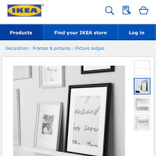 Ikea Ledges by Ikea Knoppang Picture Ledge This Is What I Store My Palettes On