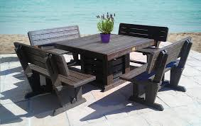 best recycled plastic outdoor furniture courtyard pinterest