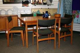 Teak Table And Chairs Incredible Ideas Teak Dining Room Chairs Cool Teak Dining Set