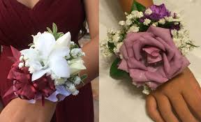 how to make wrist corsage diy wrist corsage the rider