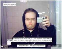 Ok Cupid Meme - 25 of the most ridiculous juggalos of okcupid cupid and funny things