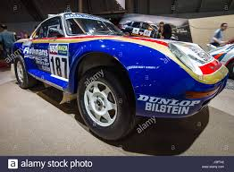 rothmans porsche rally stuttgart germany march 03 2017 sports car porsche 959 stock