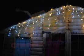 White Icicle Lights Outdoor 12m 39ft 500 Leds Outdoor Led Icicle Lights In Warm