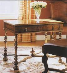 william and mary table william and mary walnut writing table lock stock barrel