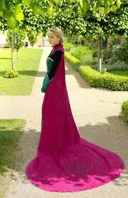 Queen Elsa Halloween Costume Aliexpress Buy Women Princess Elsa Cosplay Costume
