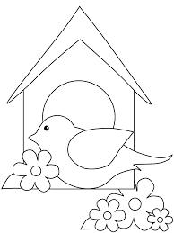 printable birds coloring
