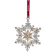 2014 silver annual snowflake ornament u2013 discontinued waterford us