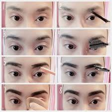 tutorial alis mata untuk wajah bulat membentuk alis tanpa mencukur agar rapi