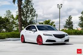 acura stance vossen wheels acura tlx vossen flow formed series vfs 2