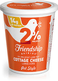 Cottage Cheese Low Fat by 1 Lowfat Cottage Cheese Friendship Dairies