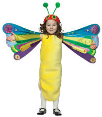 Butterfly Halloween Costumes Girls Toddler U0027s Hungry Caterpillar Butterfly Costume Halloween