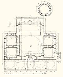floor plan of mosque rum mehmed pasa mosque floor plan of mosque and mausoleum archnet