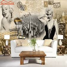 chambre marilyn déesse superstar marilyn journal 3d chambre photo papier