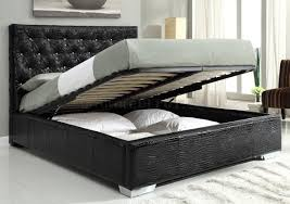 black bedroom by at home usa with storage