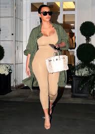 nude photos of kim kardashian kim kardashian loves to wear catsuits postbaby body pics