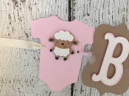 shabby chic baby shower decorations rustic baby shower banner baby girl baby shower decoration