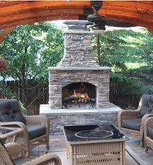 Outdoor Patio Fireplaces Outdoor Fireplace Kits Stonewood Products Cape Cod Ma Nh Ct