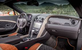 bentley continental interior 2018 2018 bentley continental supersports cars exclusive videos and