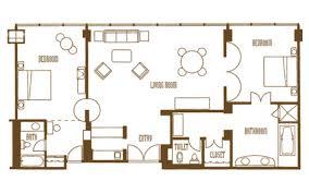 mirage two bedroom tower suite mirage rooms suites