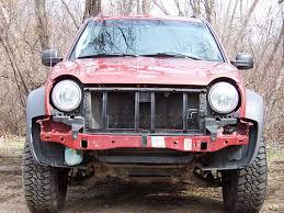 2006 jeep liberty bumper kj backbone installation