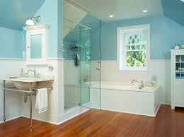 Bathroom Wood Floors - blue and white interiors living rooms kitchens bedrooms and more
