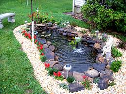 Build Backyard Pond Preparation Of How To Make A Pond In Your Backyard How To Make A