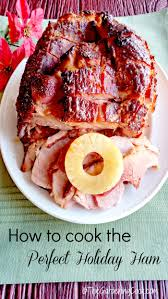 how to cook the ham the gardening cook