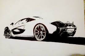 mclaren drawing mclaren p1 by 09pumba09 on deviantart