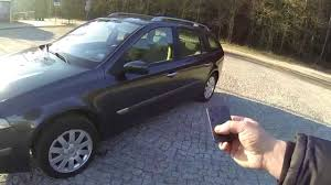 renault laguna ii power windows close from key card youtube