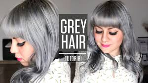 Best Temporary Hair Color To Cover Gray How To Get Silver Grey Hair Roux Fancifull 41 True Steel Rinse