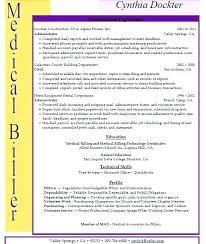 billing resume exles biller resume assistant resumes and coder