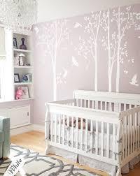 Nursery Room Tree Wall Decals White Birch Tree Wall Decals Birch Trees Wall Decal Removable