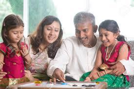 family inside stock photos royalty free family