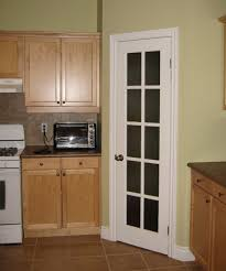 classic corner white wooden kitchen pantry cabinet freestanding with classic french door jpg
