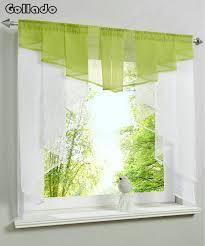coudre des rideaux de cuisine mode plissée conception couture couleurs tulle balcon cuisine