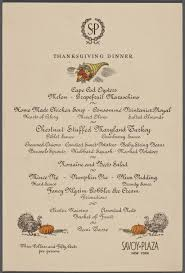 thanksgiving day menus traditions new york city the american