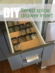 spice rack cabinet insert ana white build a spice drawer insert free and easy diy project