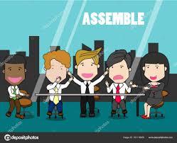 bureau des ressources humaines gens d affaires du groupe ressources humaines au bureau image
