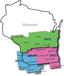 Wisconsin Lake Maps by Corn Grain Wisconsin