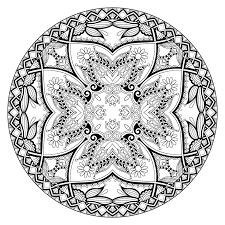 mandala by karakotsya 2 mandalas coloring pages for adults