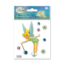 buy the disney dimensional stickers tinker bell gems at michaels