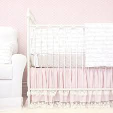 Modern Crib Bedding For Girls by Pastel Crib Bedding Soft Color Baby Bedding Caden Lane